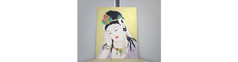 仏画 聖観音