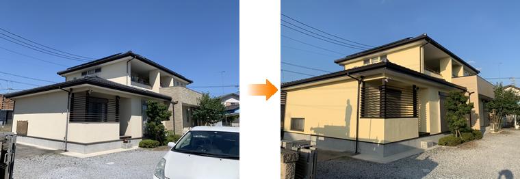 小山市外壁塗装