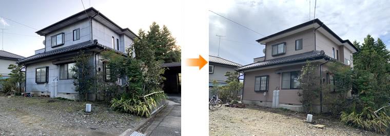 芳賀郡外壁塗装